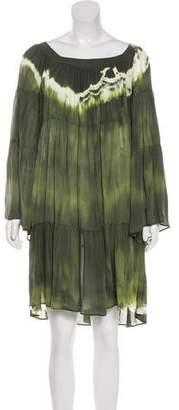 Balmain Oversize Silk Dress