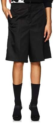 Prada Women's Tech-Twill Bermuda Shorts