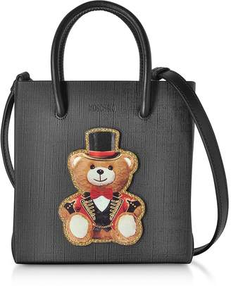 Moschino Teddy Bear Leather Mini Tote Bag