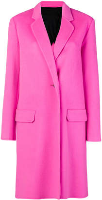 Helmut Lang classic single-breasted coat