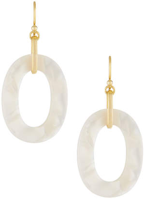A.V. Max Mother-of-Pearl Link Drop Earrings