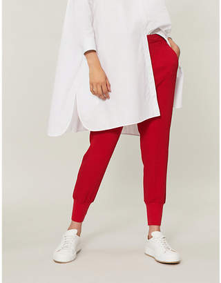 Stella McCartney Julia loose-fit crepe trousers