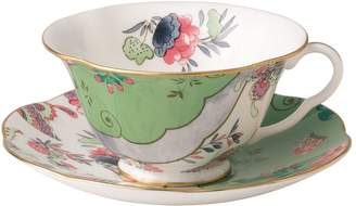 Wedgwood Butterfly Bloom Teacup and Saucer Set