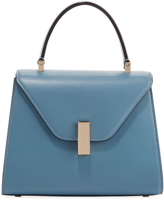 Valextra Smooth Calf Mini Iside Top Handle Bag