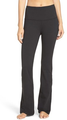 Women's Zella 'Barely Flare Booty' High Waist Pants $64 thestylecure.com