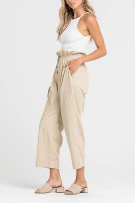 Lush Paper-Bag Waist Pants