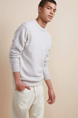 French Connenction Simple Donegal Crew Neck Jumper