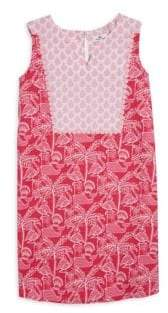 Vineyard Vines Toddler's, Little Girl's& Girl's Flamingo-Print Shift Dress