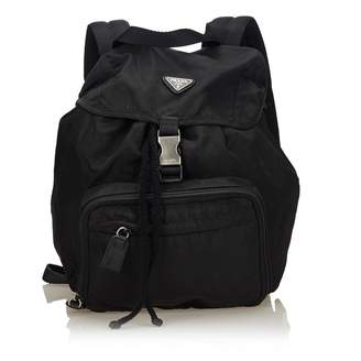 df113c6a8e3a ... denmark pre owned at vestiaire collective prada backpack 10d5c 27913