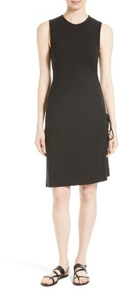 Women's Theory Rimaeya Dr Rubric Side Tie Dress $190 thestylecure.com