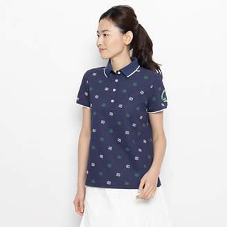 adabat (アダバット) - adabat モノグラムロゴ半袖ポロシャツ