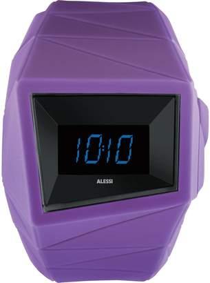 Alessi Men's AL22003 Daytimer Polyurethane Violet Designed by Federico Grazzini William Alsop Watch