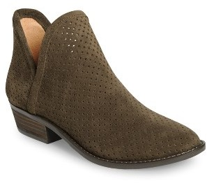 Women's Lucky Brand Kambry Perforated Bootie