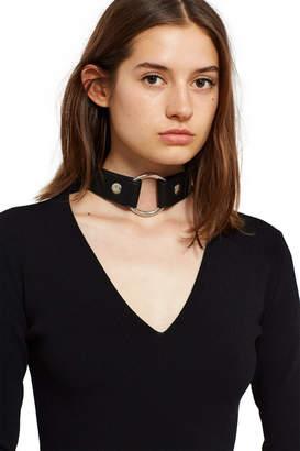 Alyx Bondage Choker Knit Dress