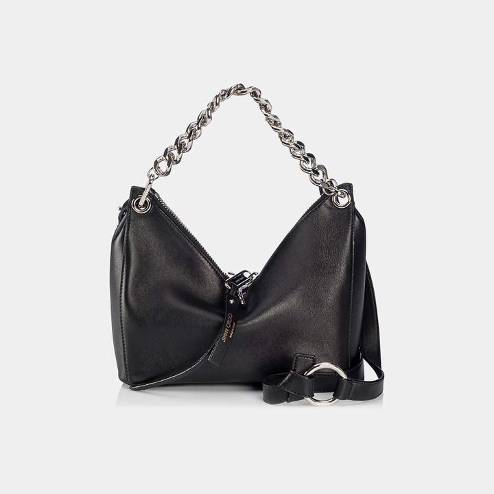 Jimmy ChooRaven Nappa Leather Shoulder Bag