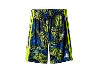 adidas Kids Amplified Net Shorts (Big Kids)