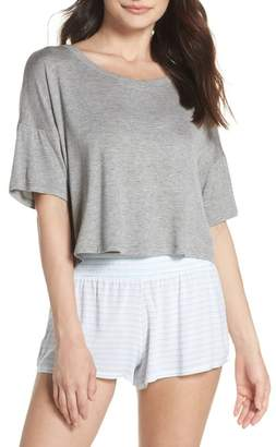 Honeydew Intimates Rayon Tee & Woven Short Pajamas