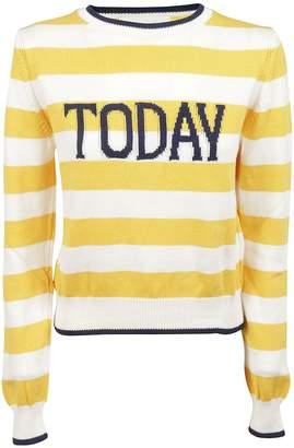 Alberta Ferretti Today Embroidered Sweatshirt