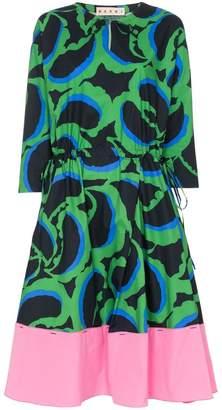 Marni printed midi-dress