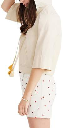Madewell Hooded Popover Top