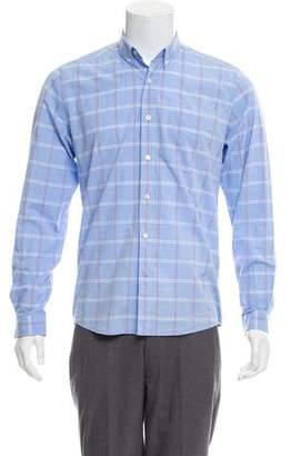 Ami Alexandre Mattiussi Window Check Casual Shirt