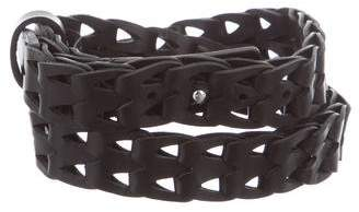 IRO Woven Leather Waist Belt w/ Tags