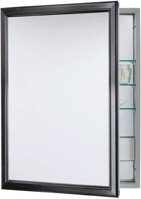 Rejuvenation Classic Framed Medicine Cabinet with Outlet