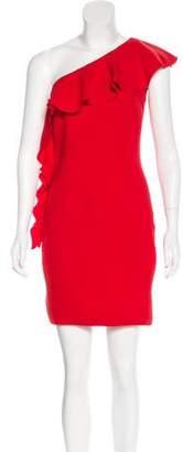 Rachel Zoe Asymmetrical Mini Dress