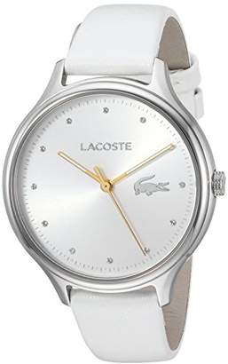 Lacoste Women's 'Constance' Quartz Stainless Steel and Leather Casual Watch