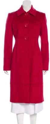 Blumarine Wool Long Coat