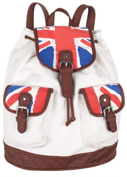 Delia's Union Jack Backpack