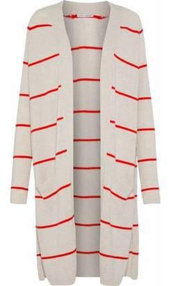 Autumn Cashmere Striped Cashmere Cardigan