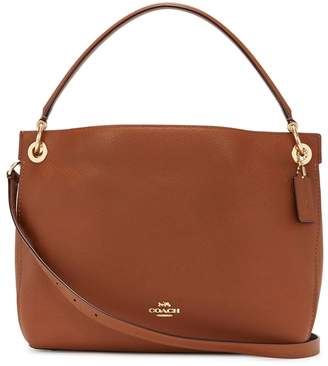 Coach Clarkson Brown Leather Tote