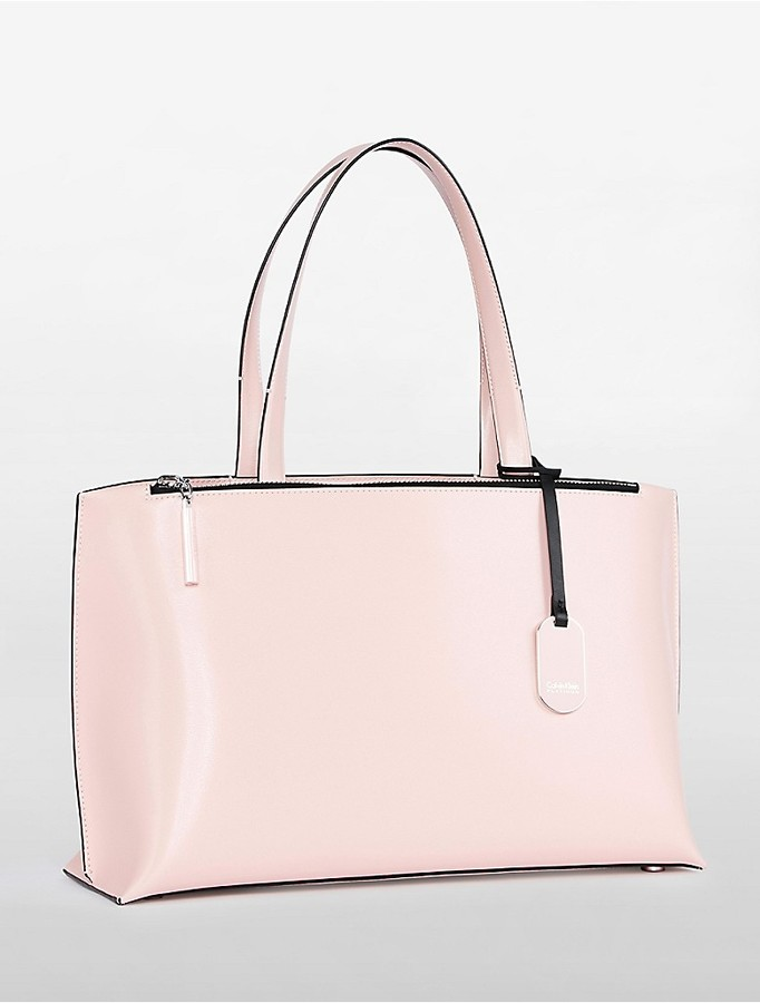 Calvin Klein Platinum Edged East/West Tote