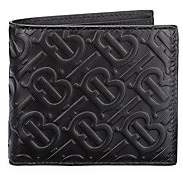 Burberry Women's Monogram Leather Bi-Fold Wallet