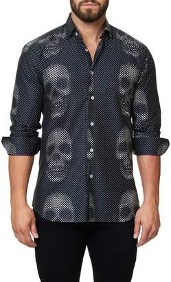 Maceoo Luxor Funky Skull Slim Fit Shirt