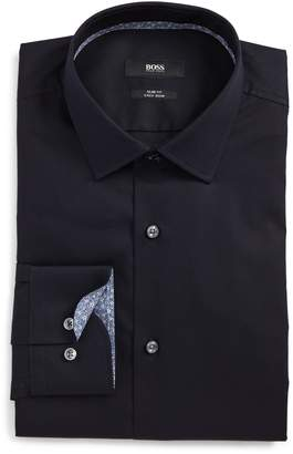 BOSS Jesse Slim Fit Easy Iron Dress Shirt