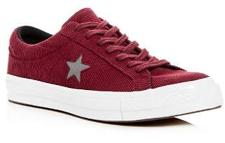 Converse Men's One Star Corduroy Lace-Up Sneakers