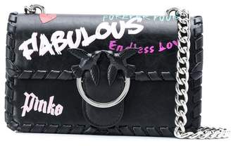 Pinko Love Fabulous mini shoulder bag