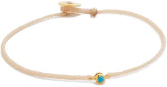 Scosha Precious Braid Bracelet $105 thestylecure.com