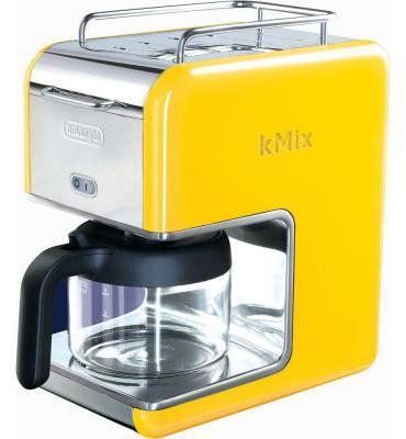 De'Longhi DeLonghi kMix 5-Cup Coffee Maker In White