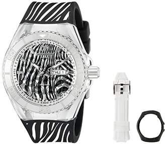 Technomarine Women's TM-114010 Cruise Zebra Analog Display Quartz Two Tone Watch