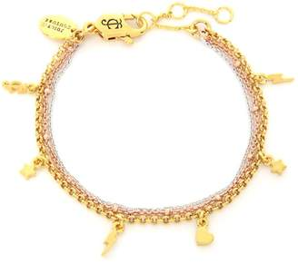 Juicy Couture Charmy Layered Luxe Wishes Bracelet