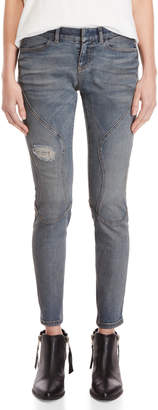 Faith Connexion Faded Running Skinny Jeans