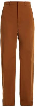 Joseph Ferguson High Rise Wide Leg Trousers - Womens - Brown