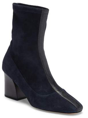 Donald J Pliner Gian Stretch Suede Boot