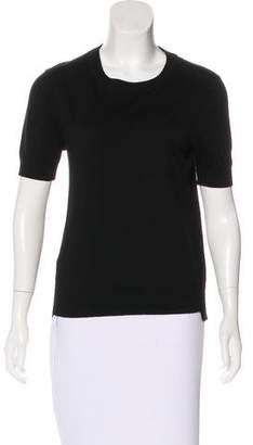 Comptoir des Cotonniers Knit Short Sleeve Top