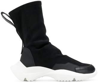 Cinzia Araia hi-top boot trainers