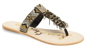 Women's Sam Edelman Anella Beaded Sandal $99.95 thestylecure.com