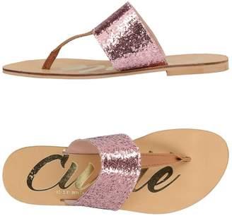 Cuplé Toe strap sandals - Item 11432028